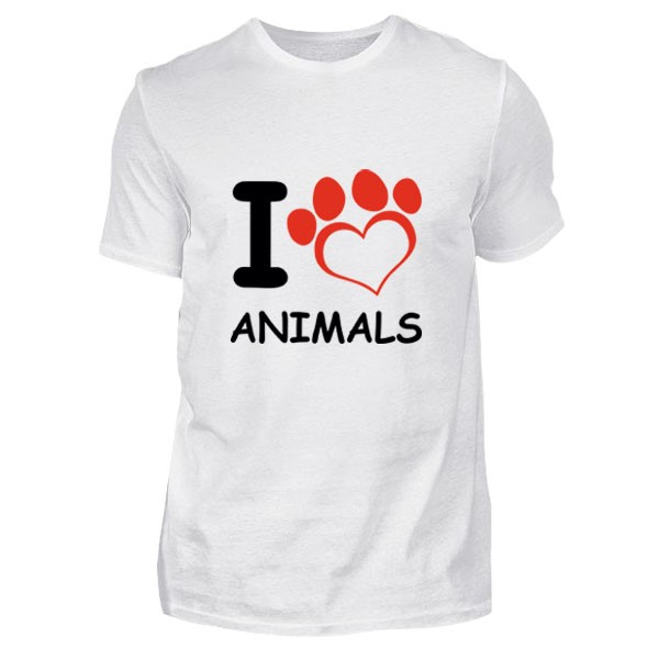 Love Animals Tişört